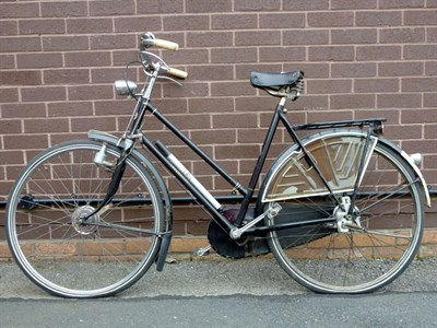 Lot 6-c1950 'Locomotief' Ladies Bicycle