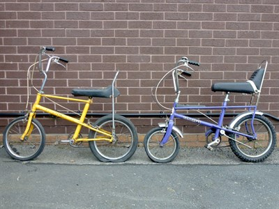 Lot 2 - Two Raleigh Bicycles