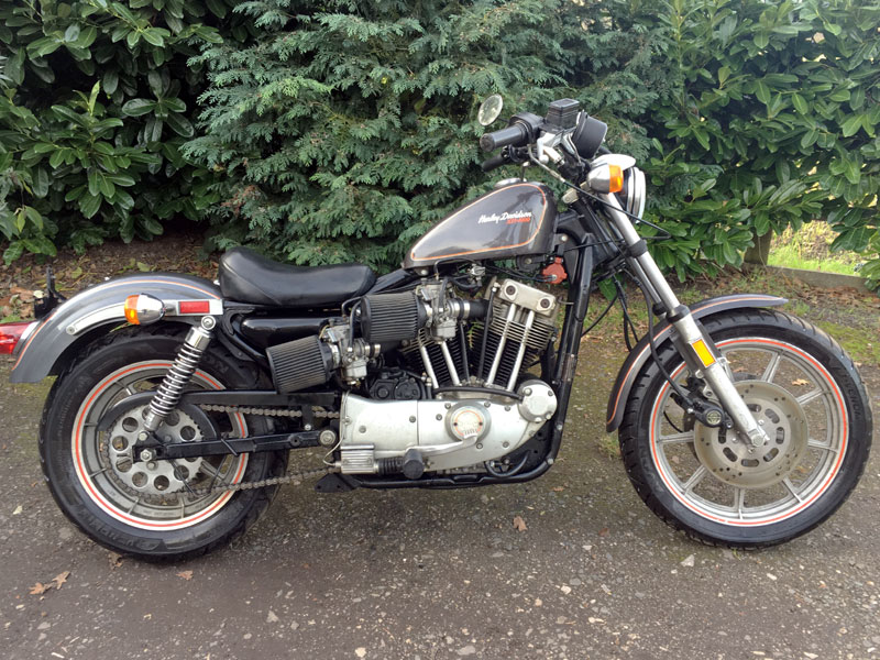 Lot 90-1983 Harley Davidson XR1000