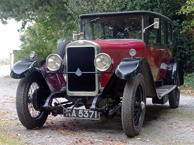 Lot 88 - 1926 Sunbeam 20.9 Coachbuilt Saloon