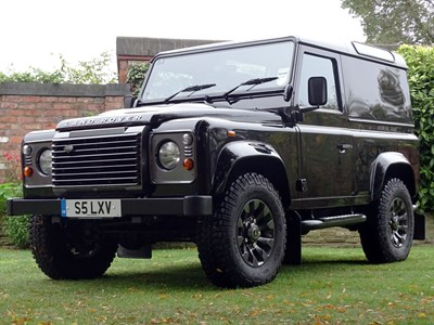 Lot 73 - 2013 Land Rover Defender 90 LXV 65th Anniversary