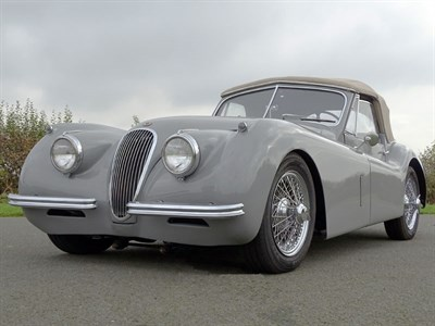 Lot 86 - 1953 Jaguar XK120 Drophead Coupe