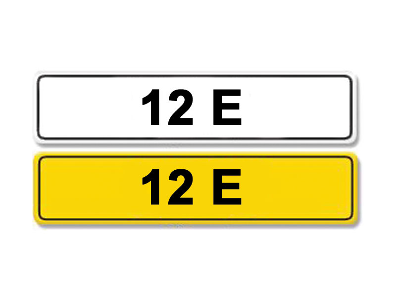 Lot 6-Registration Number 12 E