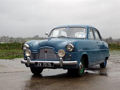 Lot 22 - 1953 Ford Zephyr 6