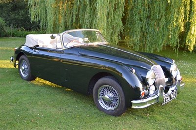 Lot 32 - 1959 Jaguar XK150 SE Convertible