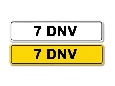 Lot 2-Registration Number 7 DNV