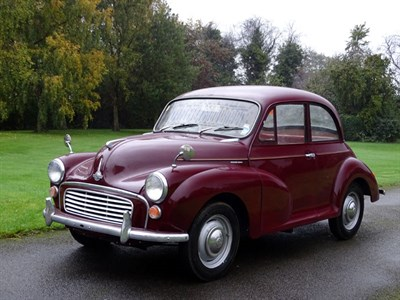 Lot 38 - 1970 Morris Minor 1000 Saloon