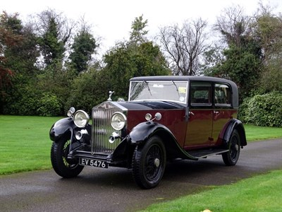 Lot 64 - 1932 Rolls-Royce 20/25 Park Ward Saloon