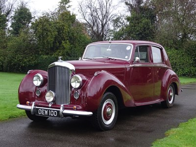 Lot 65 - 1955 Bentley R-Type Saloon