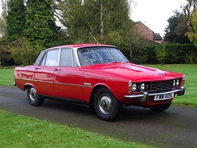 Lot 39-1972 Rover P6 3500