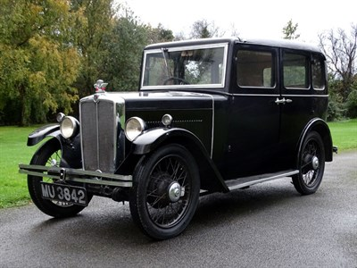 Lot 61 - 1931 Morris Family Eight Saloon