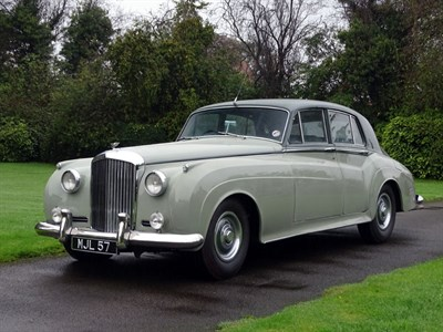 Lot 63 - 1958 Bentley S1 Saloon