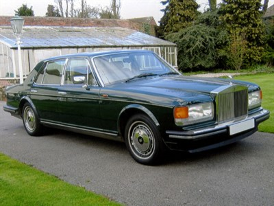 Lot 62 - 1994 Rolls-Royce Silver Spirit III