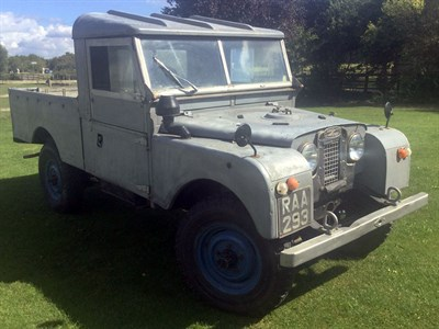 Lot 7-1956 Land Rover 107