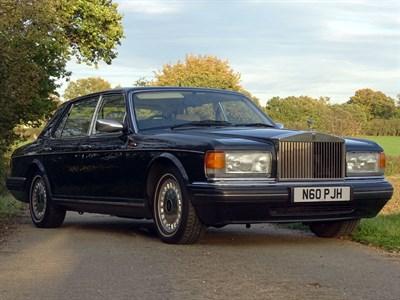 Lot 85-1995 Rolls-Royce Silver Spur III
