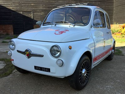 Lot 25 - 1973 Fiat 500 Abarth Evocation