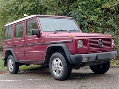 Lot 22-1991 Mercedes-Benz 300 GEL