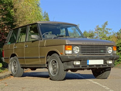 Lot 69 - 1992 Range Rover Vogue EFi