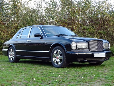 Lot 93 - 2001 Bentley Arnage Red Label