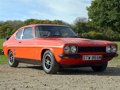 Lot 54 - 1974 Ford Capri RS 3100