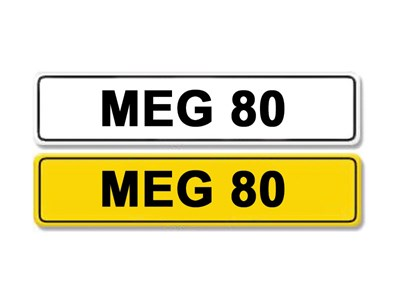 Lot 4-Registration Number MEG 80