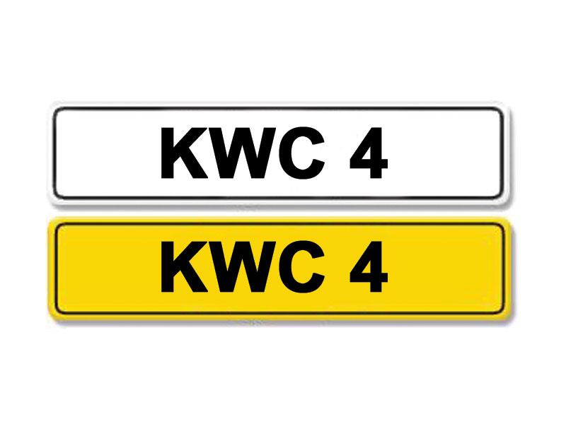 Lot 5-Registration Number KWC 4