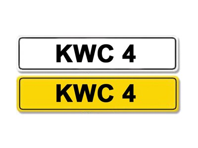 Lot 5-Registration Number KWC 4