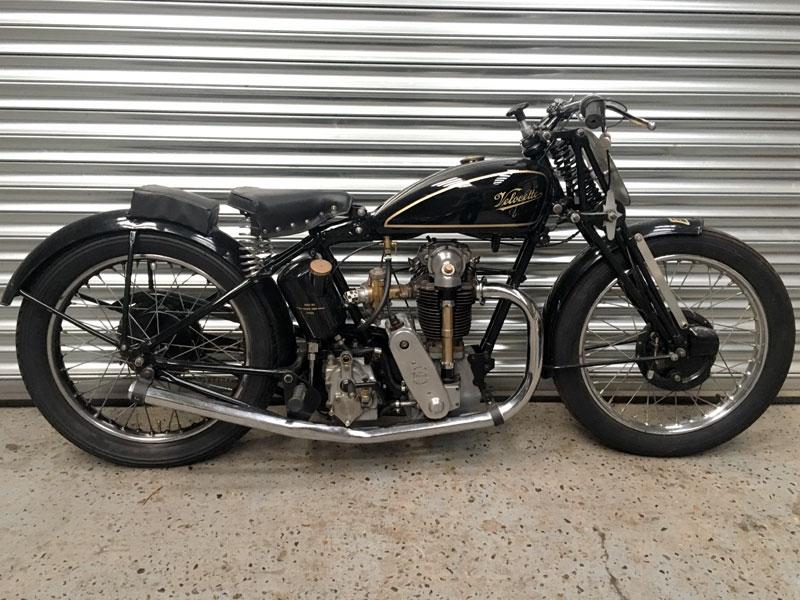 Lot 42-1930 Velocette KSS