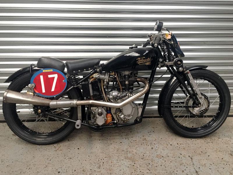 Lot 85-1935 Velocette MAC