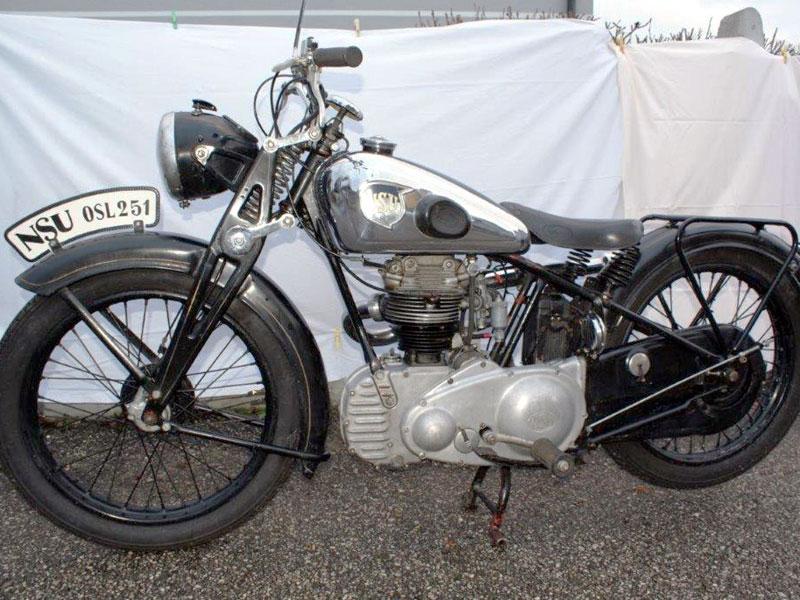 Lot 33-1938 NSU OSL 251 Sport