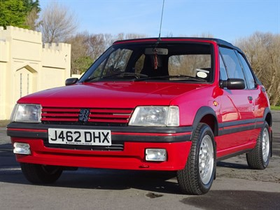 Lot 53 - 1992 Peugeot 205 CTi