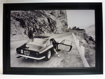 Lot 96-Steve McQueen and the Ferrari 250 Lusso