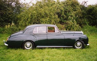 Lot 54-1956 Bentley S1 Saloon