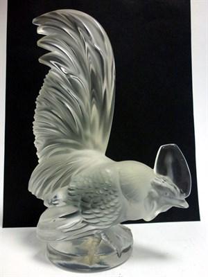 Lot 63-'Coc Nain' Cockerel Accessory Mascot by R. Lalique