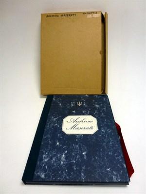 Lot 68-Archivio Maserati