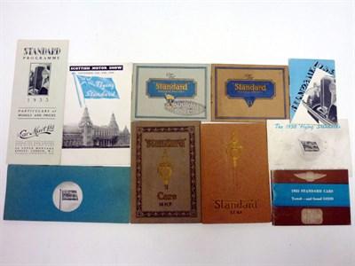 Lot 3 - Pre-War Standard Sales Brochures