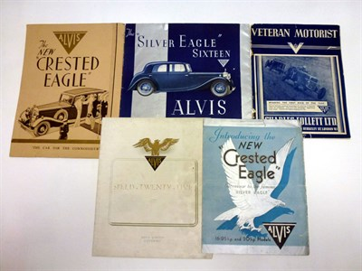 Lot 5 - Pre-War Alvis Sales Literature