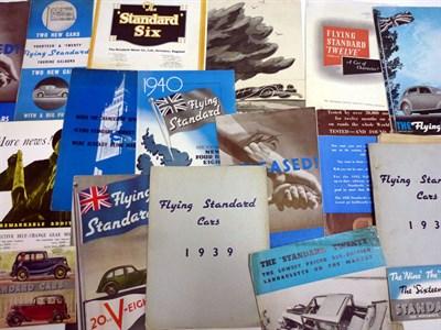 Lot 13 - Pre-War Standard Sales Literature