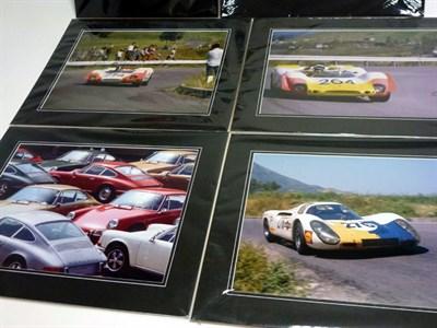 Lot 22 - Six Large-Format Porsche Photographs