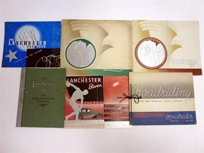 Lot 25 - Pre-War Lanchester Sales Literature