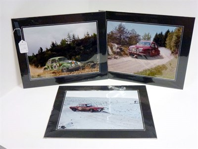 Lot 29-Three Large-Format Rallying Photographs