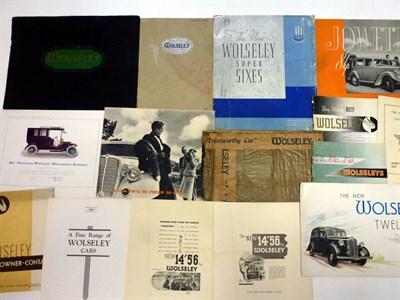 Lot 54 - Pre-War Sales Literature
