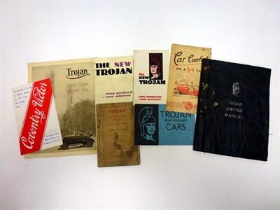 Lot 70 - Pre-War Sales Literature