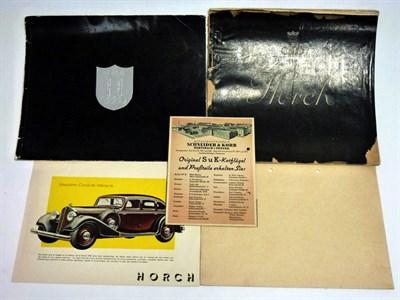 Lot 78 - Pre-War Horch Sales Literature
