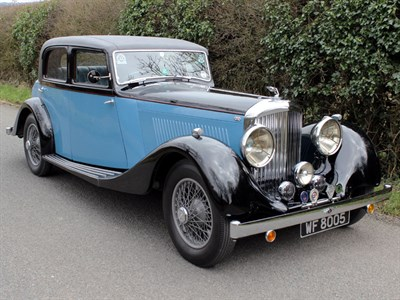 Lot 55 - 1935 Bentley 3.5 Litre Sports Saloon