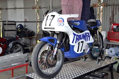 Lot 66-c.1971 Rob North T150V Racer