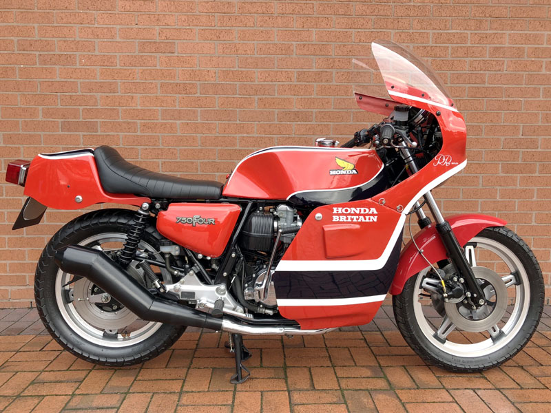 Lot 67-1978 Honda CB750 Phil Read Replica