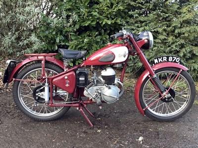 Lot 24-1950 Excelsior Talisman Twin TT1