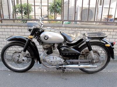 Lot 27-1958 Honda JC58 Benly