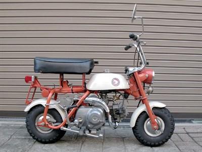 Lot 95-1967 Honda Z50M